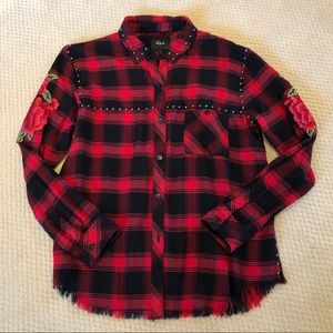 Rails Red & Black Flannel Shirt